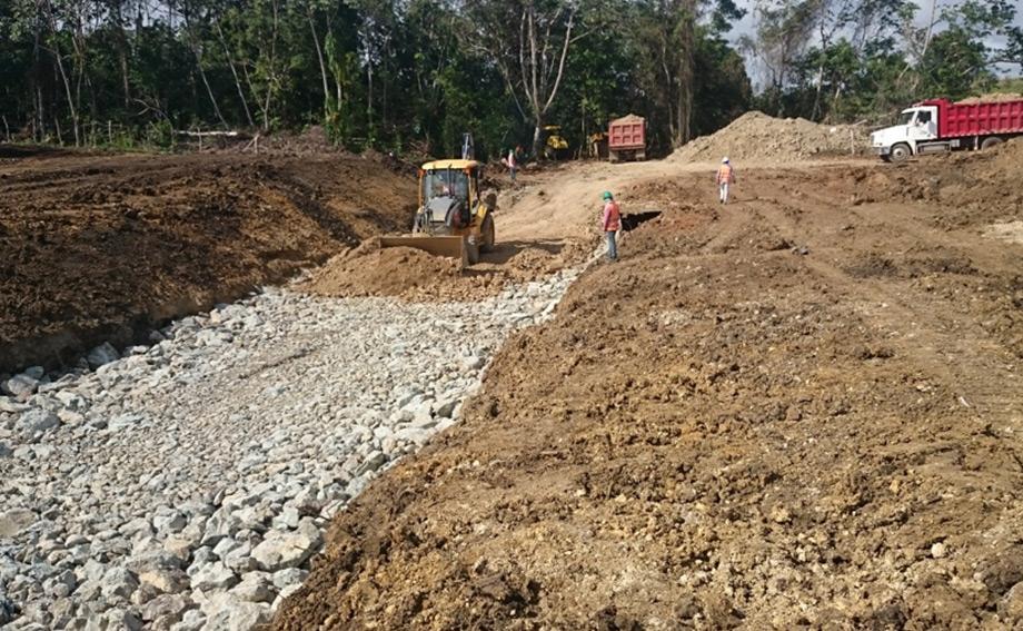 Construcción Circunvalación Santo Domingo, Tramo IIA